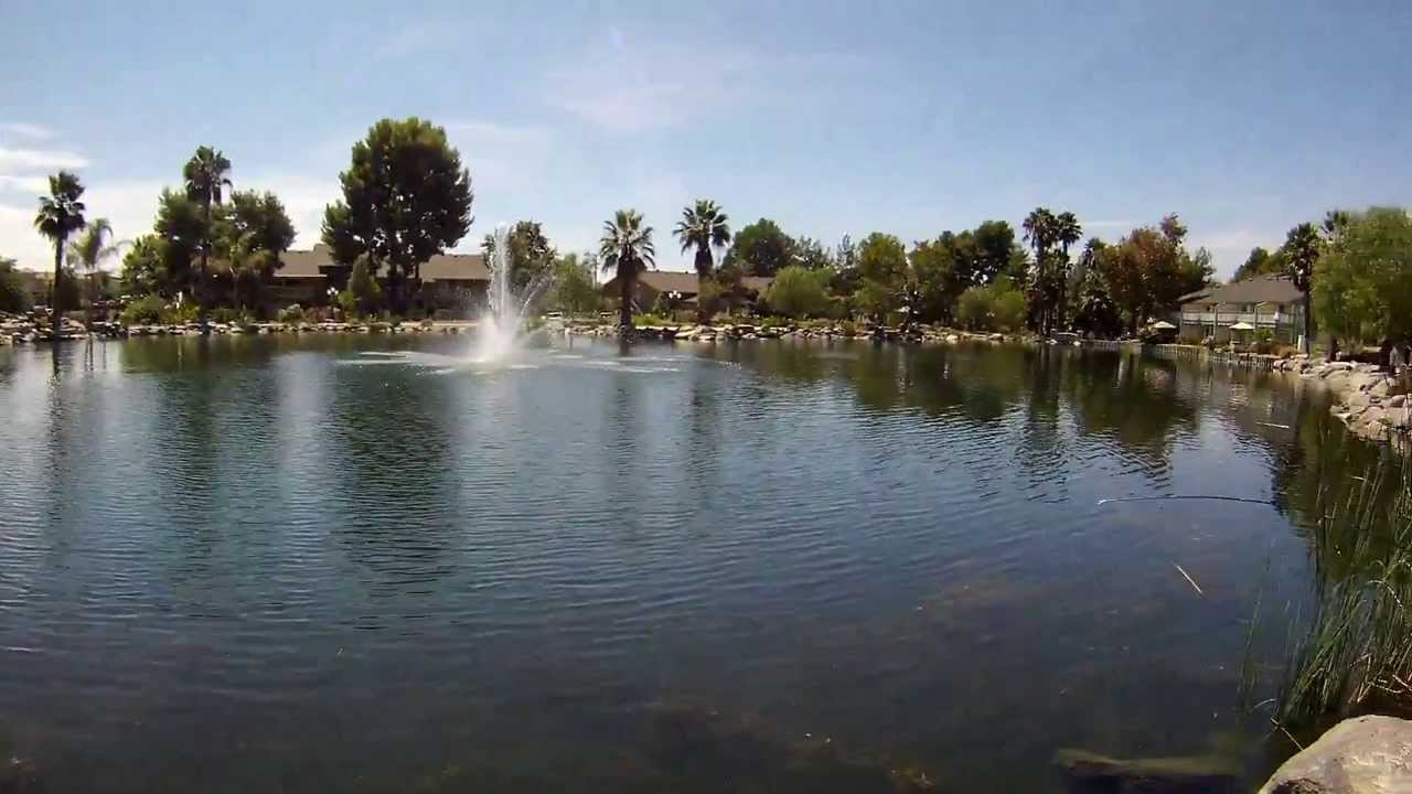 Fishing murrieta hot springs pond with mac50 pov camera for Private fishing ponds near me