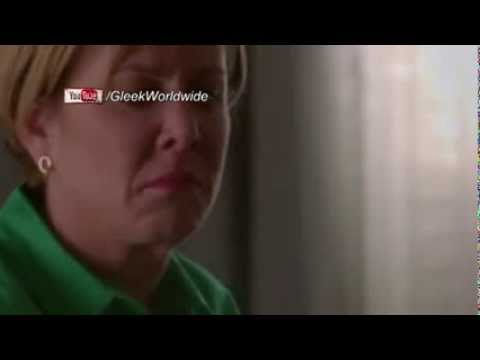 Glee - City of Angels - Carol gets emotional about Finn