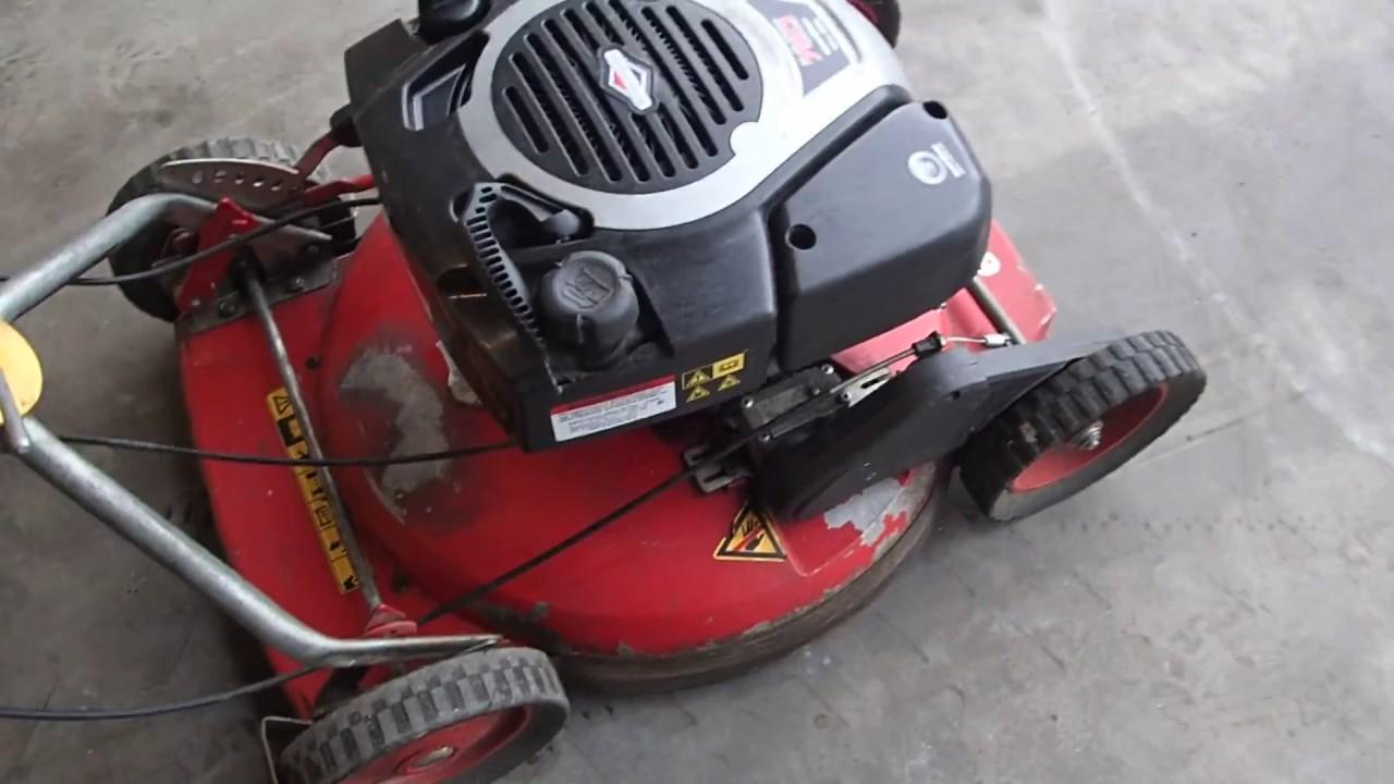 Klippo Pro 21 gräsklippare 3 st - 08 903632 2/4 - YouTube