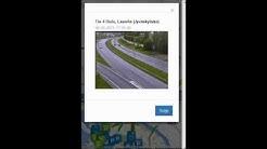 Oulunliikenne.fi -palvelun mobiilikäyttöä