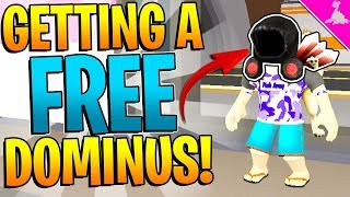 GOT A FREE DOMINUS FROM THIS GAME! - ROBLOX FACTORY SIMULATOR