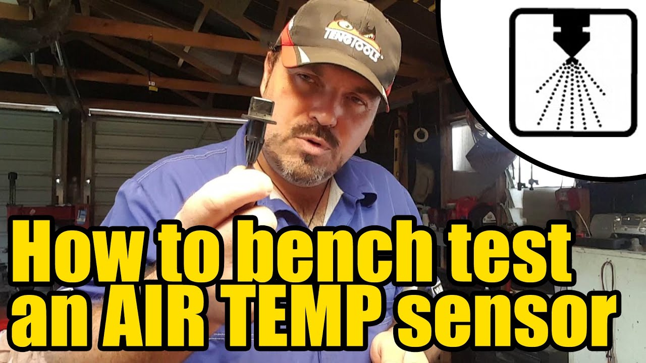 How To Test An Air Temperature Sensor 1205 Youtube Toyota Yaris821707 Ambient Circuit Diagram