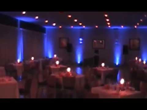 Wedding Reception Uplighting Youtube