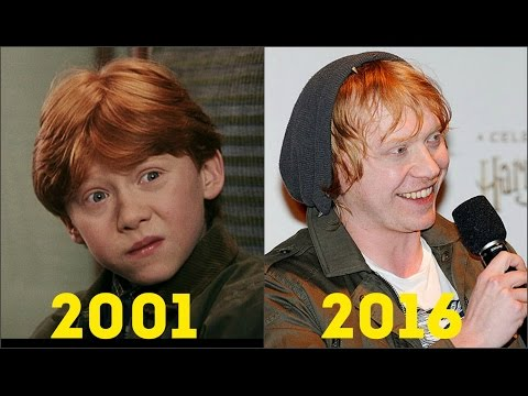 Harry Potter: Actors Then and Now (2001-2016)