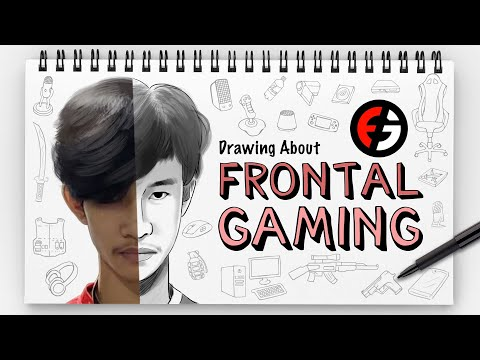 FRONTAL GAMING - DRAWING ABOUT