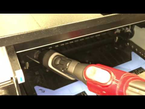 How to Clean Dell 2330dn Transfer Roller