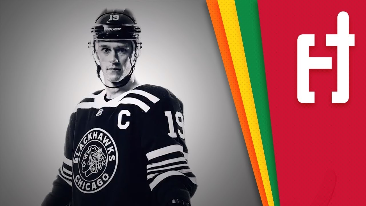 a48a09cd032 Blackhawks Unveil New Winter Classic Jerseys - YouTube
