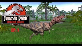 Jurassic Park: Operation Genesis EP1: Welcome, to Jurassic Park!