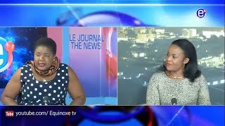 THE 6PM NEWS (Guest: Bergeline DOMOU) MONDAY JULY 16th 2018 EQUINOXE TV