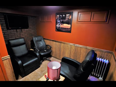 Home Cigar Lounge Man Cave Tour
