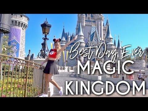 BEST DAY AT MAGIC KINGDOM   Full Tour Plan & Walkthrough