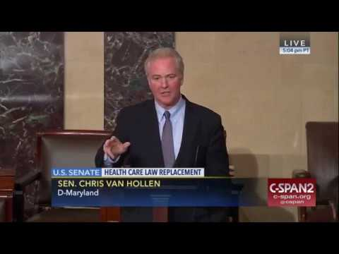 Sen. Chris Van Hollen: Trumpcare stinks and the American people know it