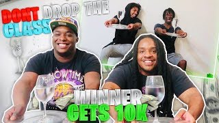 LAST TO DROP THE GLASS OF WATER WINS $10,000 FT. DDG, DUB FAMILY, & POUDII P