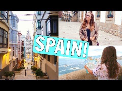 SHE'S LEAVING ALREADY!! SIERRA TRAVELS TO SPAIN!! || SPAIN TRAVEL VLOG!