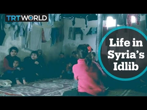 Family of 40 struggle to survive in Idlib