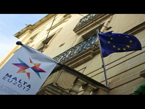 BREAKING NWO GLOBALISTS Open Borders ISLAM Invasion Malta European Union summit 2017 February 4 2017