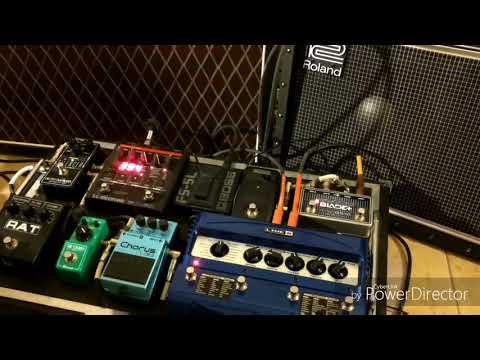 Setup Pedalboard Cerati - Roland JC40 Jazz Chorus + Vox Ac15 (sonido Cerati)
