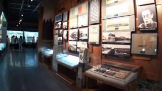 上海铁路博物馆(2) 本館内のようす /  Shanghai Railway Museum. 2