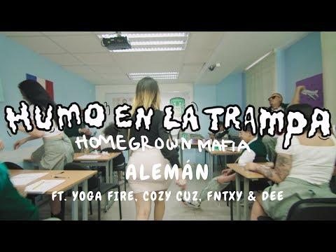Alemán - Humo En La Trampa Ft Yoga Fire, Cozy Cuz, FNTXY & Dee (Prod. By Taso X Di$) Video Oficial