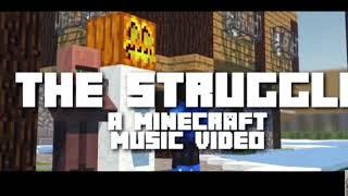 Война идёт войной песня клип рэп Minecraft