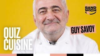 Guy Savoy - Le Quiz Cuisine du chef triplement étoilé