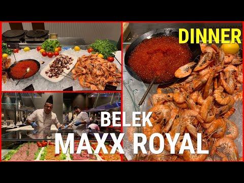 MAXX ROYAL BELEK / DINNER / ужин