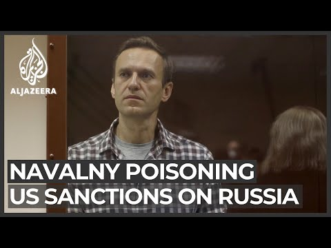 US slaps sanctions on Russia over Navalny poisoning