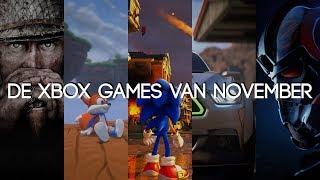 De Xbox Games van November