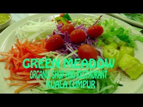 Green Meadow Organic Restaurant Kuala Lumpur (review)  raw food in malaysia