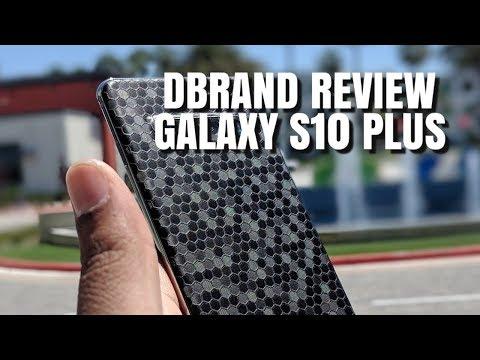 Dbrand Skin Review S10 Plus Black Swarm