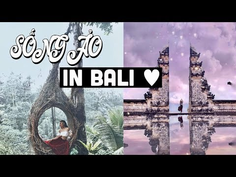  BALI VLOG  TOP 5 ĐIỂM CHỤP ẢNH SỐNG ẢO Ở BALI   DU LỊCH BALI TỰ TÚC 6N5Đ