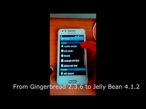Samsung Galaxy Beam I8530 JELLY BEAN 4.1.2 #2017