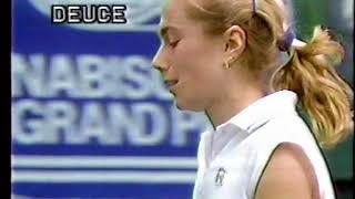 1988ジャパンオープンテニス女子1回戦井上悦子VSナタリエ・ビコバ