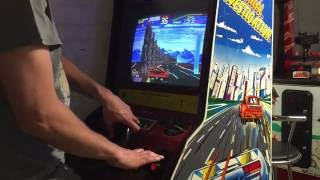 S.C.I Arcade Cab Pickup! Overview & Full Gameplay! Taito Special Criminal Investigation