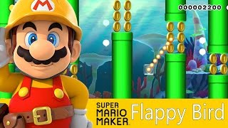 Flappy Bird ? Geometry Dash? Niveles De Subs ! | Super Mario Maker