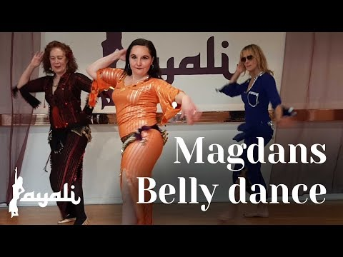 Belly Dance with Ann's students at Layali, Sweden 2020 | Fakerni with Haifa