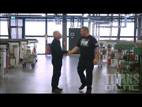 TITAN Visits Switzerland's Largest CNC Machine Shop!