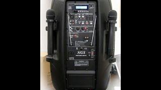 Активная автономная акустическая система NGS PMQ15AMFQ-V2BP-BT 15 Diffuzor.com.ua