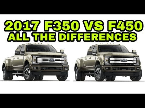 2017 F450 vs F350! BEFORE YOU BUY