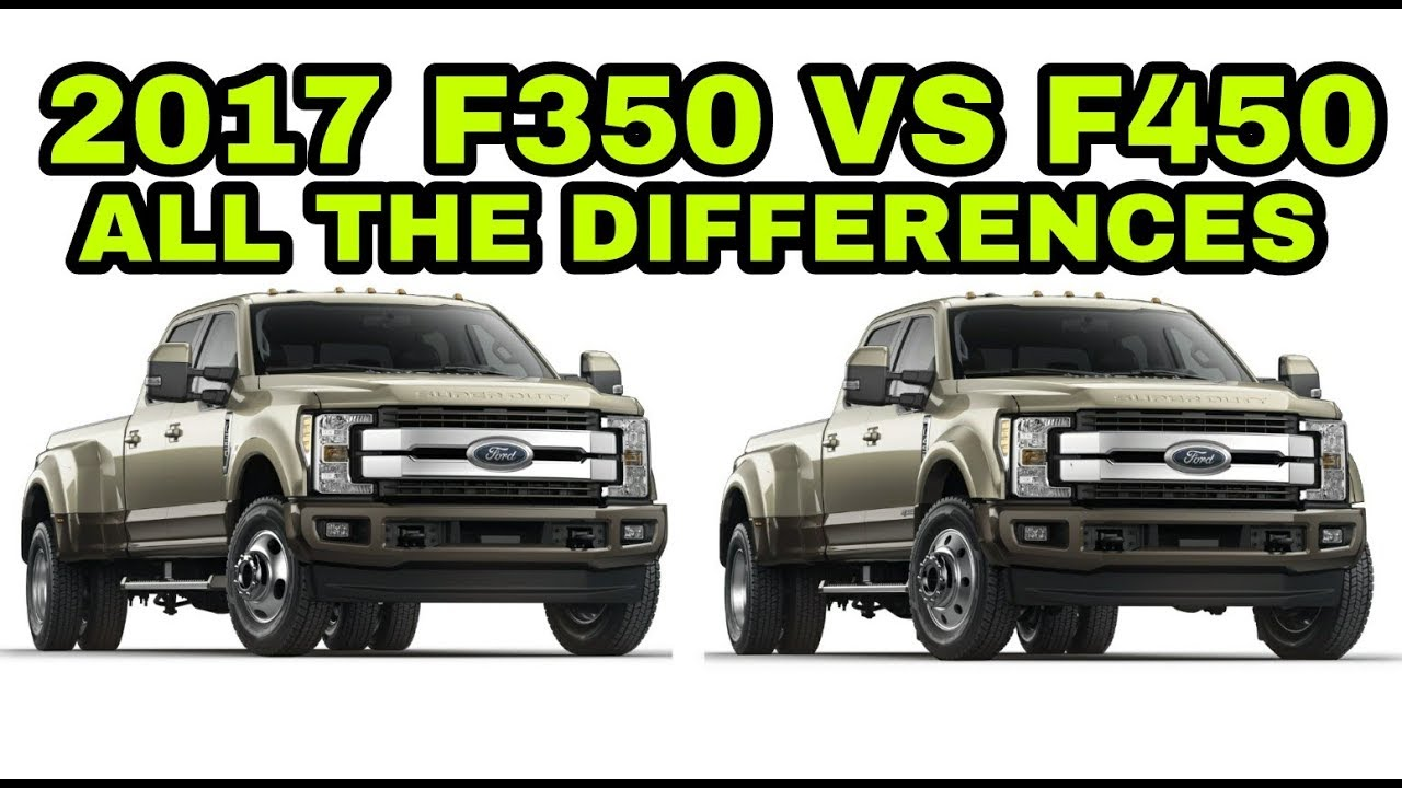 f250 vs f350 for towing