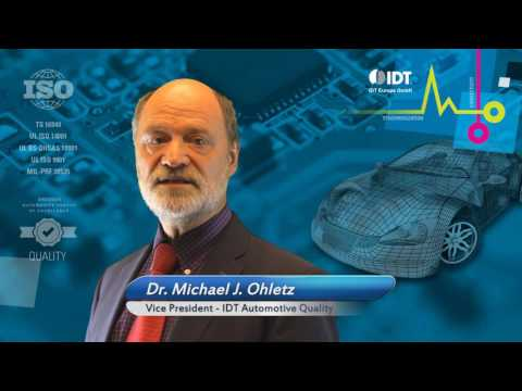 Discussing IDT's Dual Source for Automotive Quality