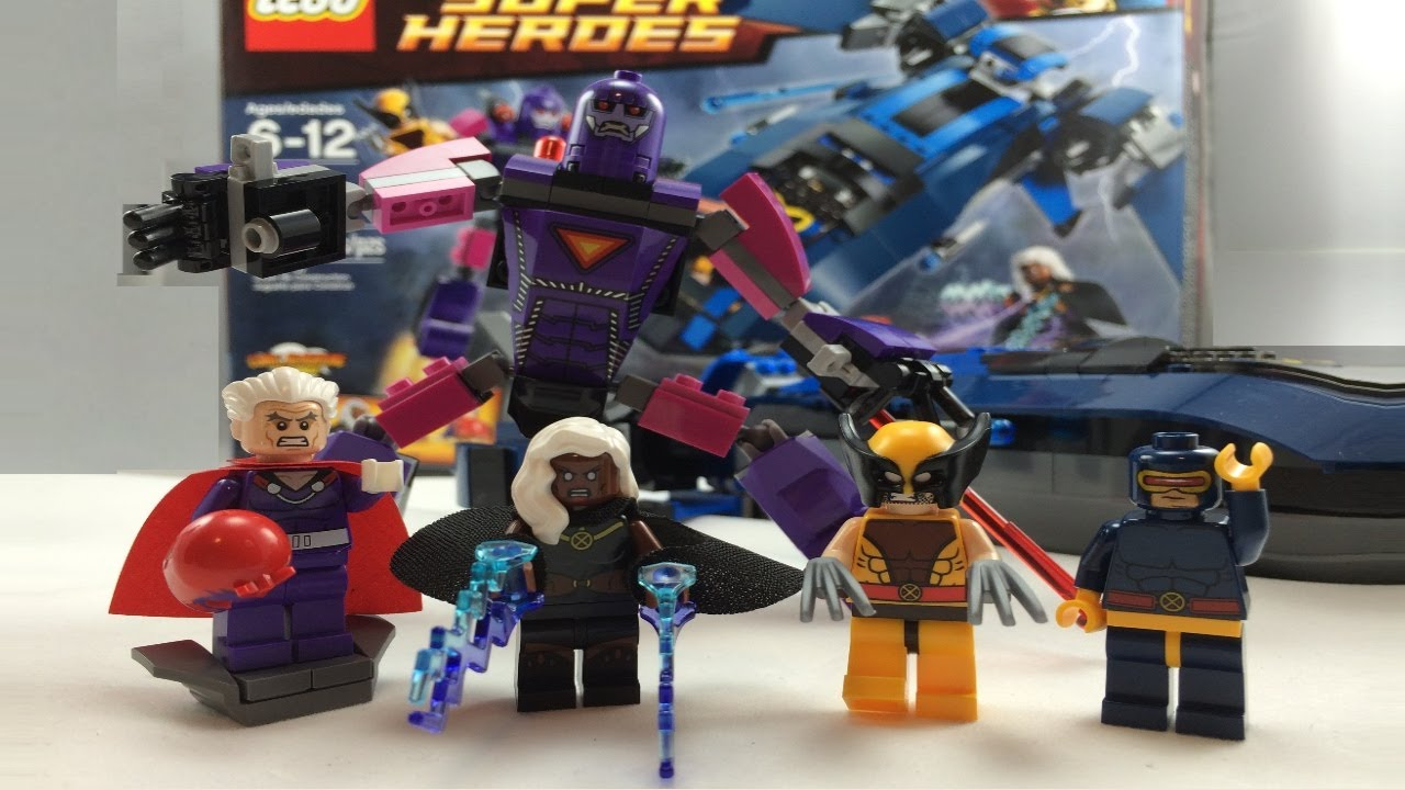 Lego Marvel Super Heroes X Men Vs The Sentinel Review 76022 Youtube