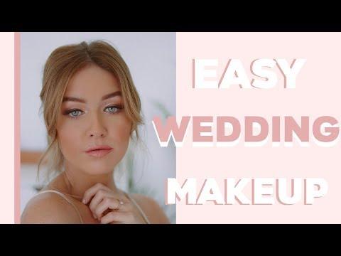 Easy & Romantic Bridal Makeup