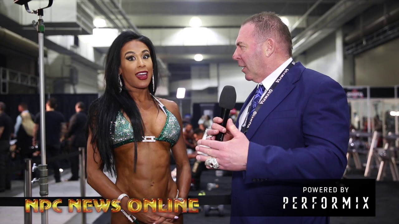 2018 Olympia 5th  Place Bikini Winner Ashley Kaltwasser After Contest Interview With Tony Doherty