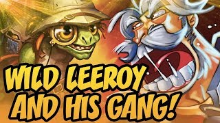 Wild Leeroy and His Gang! | Rastakhan's Rumble | Hearthstone