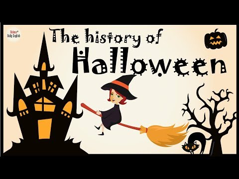 Learn English through Story: Halloween history with subtitles