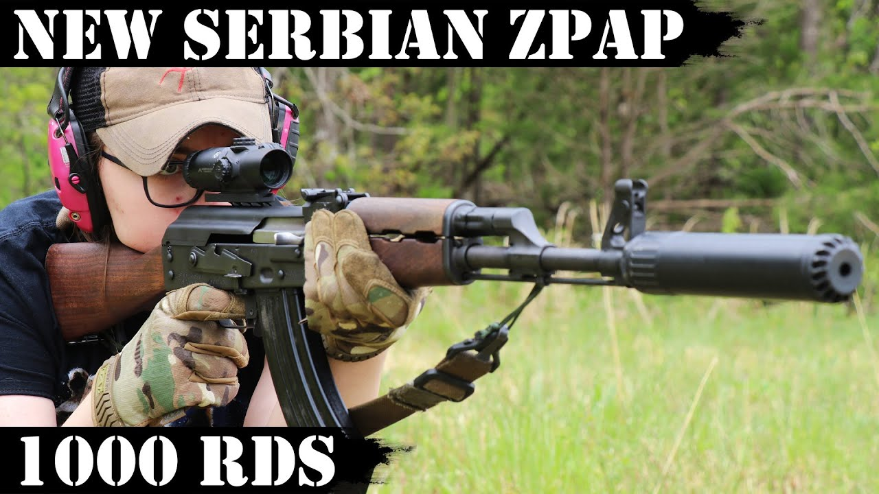 New Improved Serbian ZPAP M70 AK: 1000 Rounds!