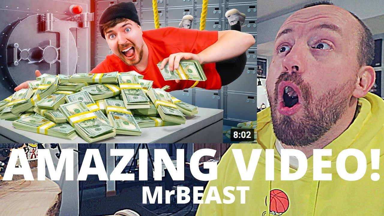 Download BEYOND EPIC! MrBeast First To Rob Bank Wins $100,000 (FIRST REACTION!)