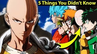 5 Things You Didn't Know About Saitama in One Punch Man