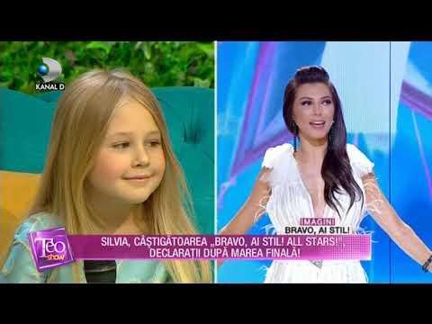 Teo Show (19.06.2018) -  Silvia, impreuna cu fiica sa Evolette, declaratii dupa marea finala!